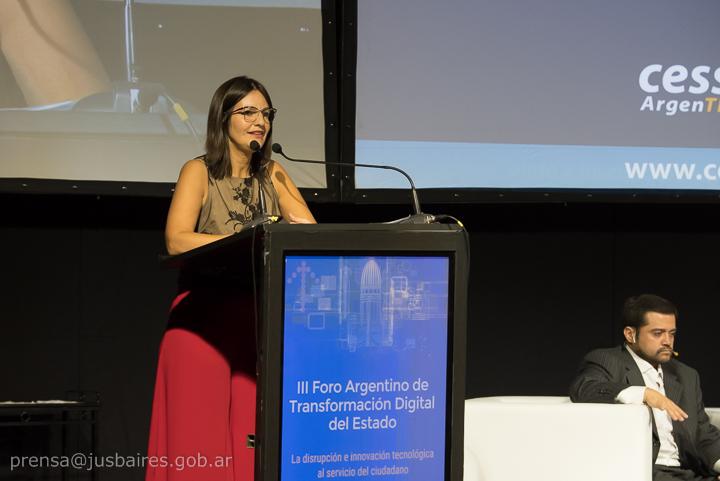 Disertación en el III Foro Argentino de Transformación Digital del Estado